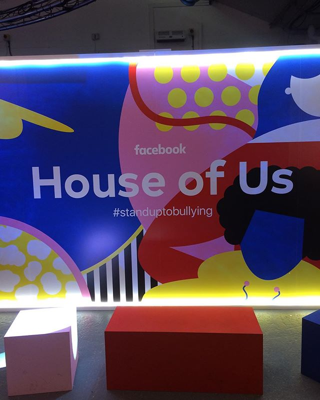 It's day 2 of House of Us, as we celebrate the launch of our newest partnership with @facebook, working to bring Anti Bullying Ambassadors to even more schools across the UK! Head to our stories for more behind the scenes as we #StandUpToBullying