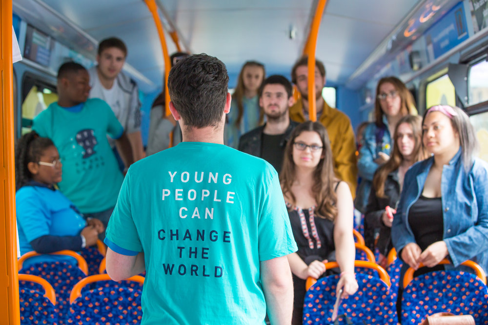 The #BeNiceBus offers the following:      Workshops:    The #BeNiceBus will spend a day within your school hosting anti-bullying workshops from  10am to 3pm . Each workshop will last  45 minutes  and will be delivered to groups of up to  30  young people. Each young person who attends these workshops will be provided with a 'Staying Safe Online' workbook and other resources to support them.     Walk-on sessions:    During break times the bus can be used as a 'safe space' in which young people are free to talk to the facilitator about any issues/concerns they may have and can be signposted to other support networks. Any concerns raised within these session will be passed on to the schools safeguarding lead.     Parental/Teacher workshops:    We are able to provide each school with a Parent or Staff workshop to further support your anti-bullying work. (with a focus on cyberbullying). These workshops can be tailored to focus on any areas of concern or interest within your school. These will typically last up to one hour and all members will be provided with a support guide on completion.     After-care:    Finally, all schools who host the #BeNiceBus will be provided with an after-care programme, which contains resources for staff and students to help develop their cyberbullying campaign.      If you are interested in signing your school up for this project, please fill in the  below form  to register your interest and be in with a chance to host this fantastic programme at your school!