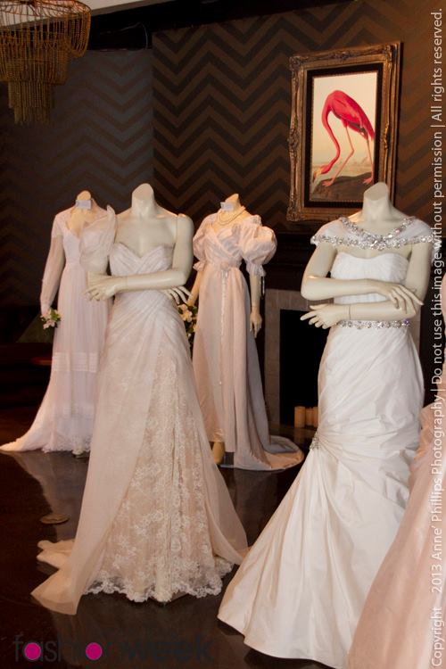 IO Bridal Gowns at TBFW Bridal Brunch 2013