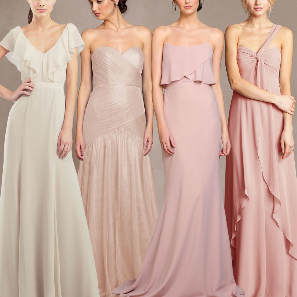 Jenny Yoo Bridesmaid Blush Ombre Dresses Tampa Bay Bridal Shop