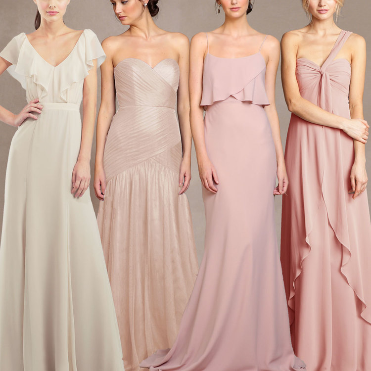 Jenny Yoo Bridesmaid June Promo: $20 off Shades of Champagne & Blush ...