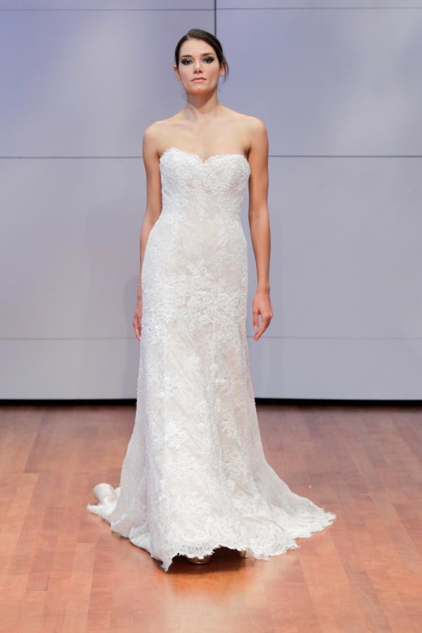 Alyne Bridal Karina Strapless lace wedding dress gown