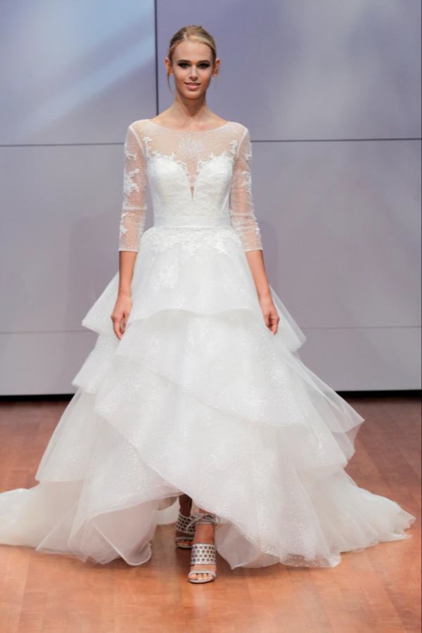 Alyne Bridal Zarah Long Sleeve Ball Gown Wedding Dress