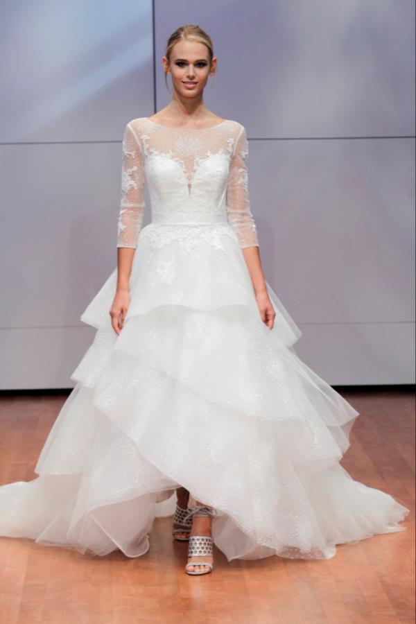 Alyne Bridal Zarah Long Sleeve Ball Gown Wedding Dress