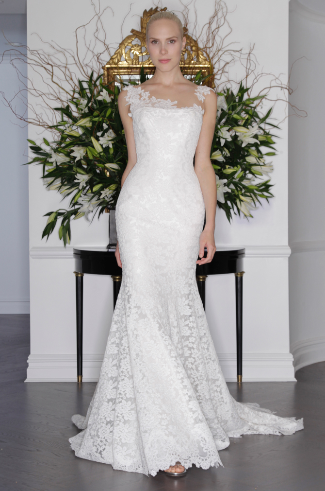 legends romona keveza modern lace illusion neck mermaid wedding dress