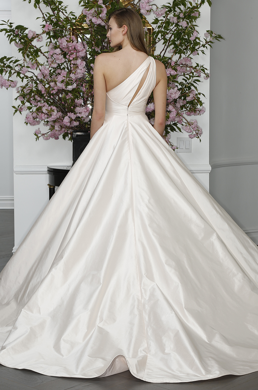 one should ball gown wedding dress