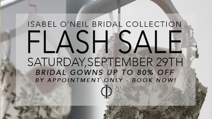 Flash Sale Wedding Dress Clearance Sample Sale Tampa