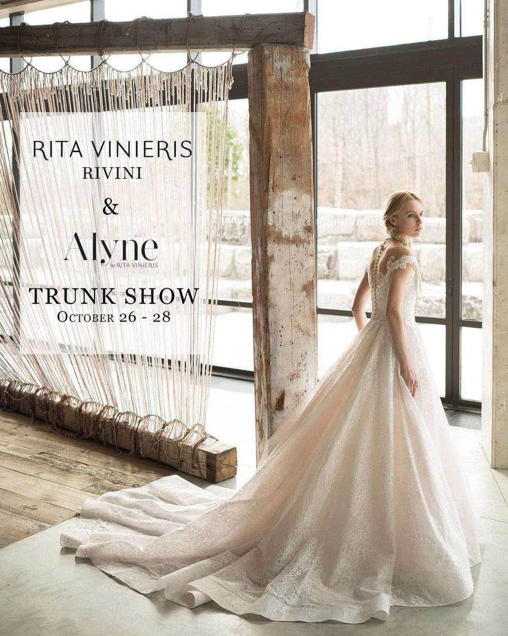 Rita Vinieris Rivini Alyne Bridal Ball Gown Lace Wedding Dress  Tampa Bridal Shop