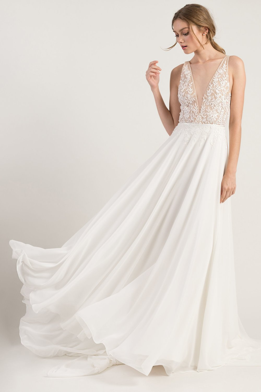 Jenny Yoo Martina Bohemian Chic Wedding Dress