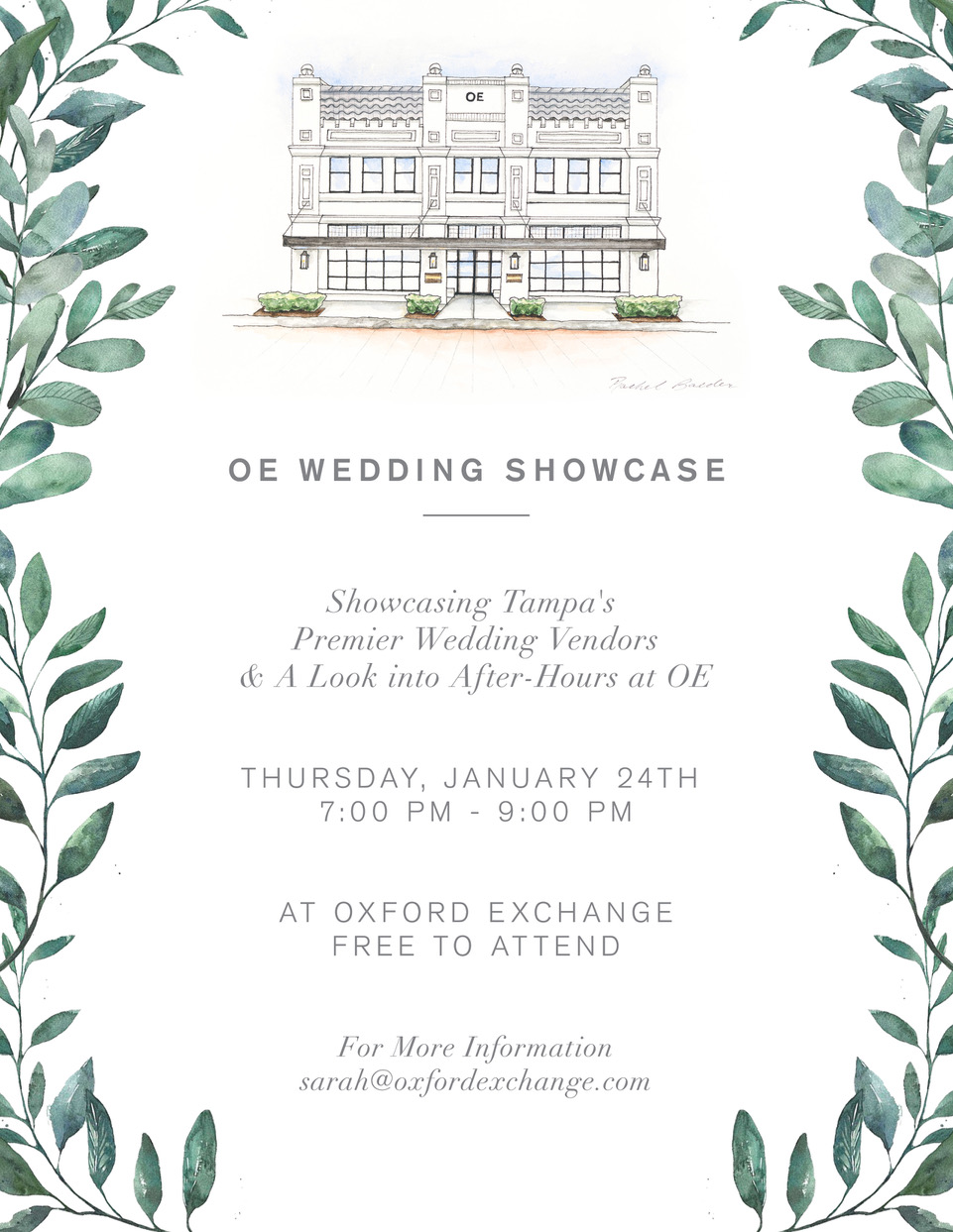 Oxford Exchange Bridal Showcase Tampa Best Wedding Vendors Bridal Shop