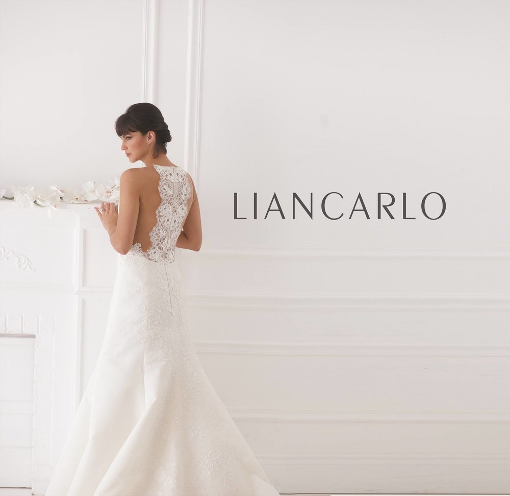 Liancarlo Lace Back Sexy Wedding Dress Halter Mermaid Trumpet Boho Bridal Gown Shopping Tampa Florida