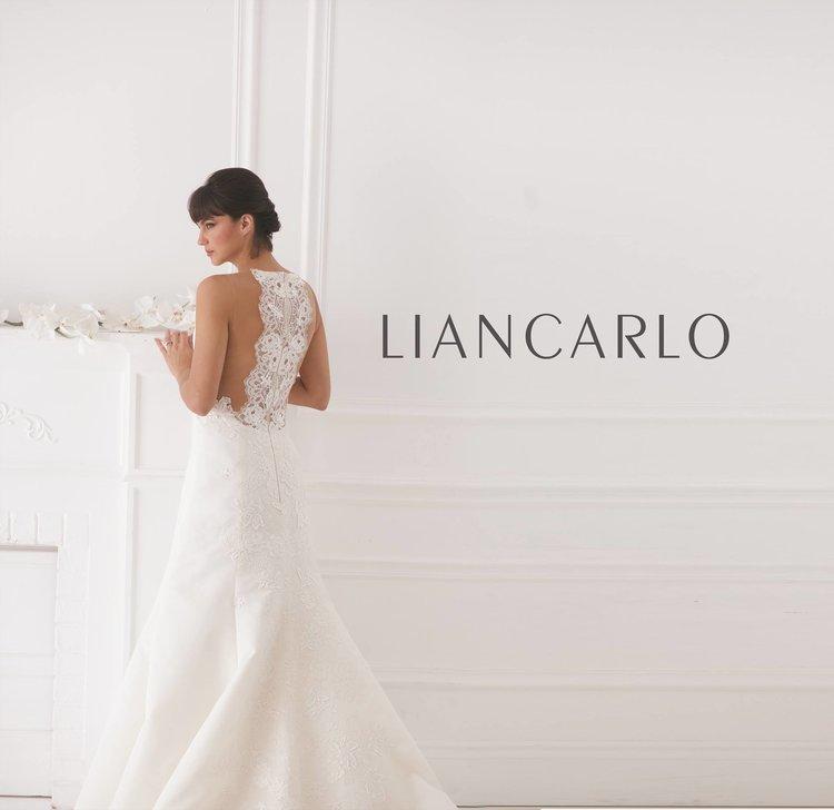 53ee844640df Liancarlo Lace Back Sexy Wedding Dress Halter Mermaid Trumpet Boho Bridal  Gown Shopping Tampa Florida