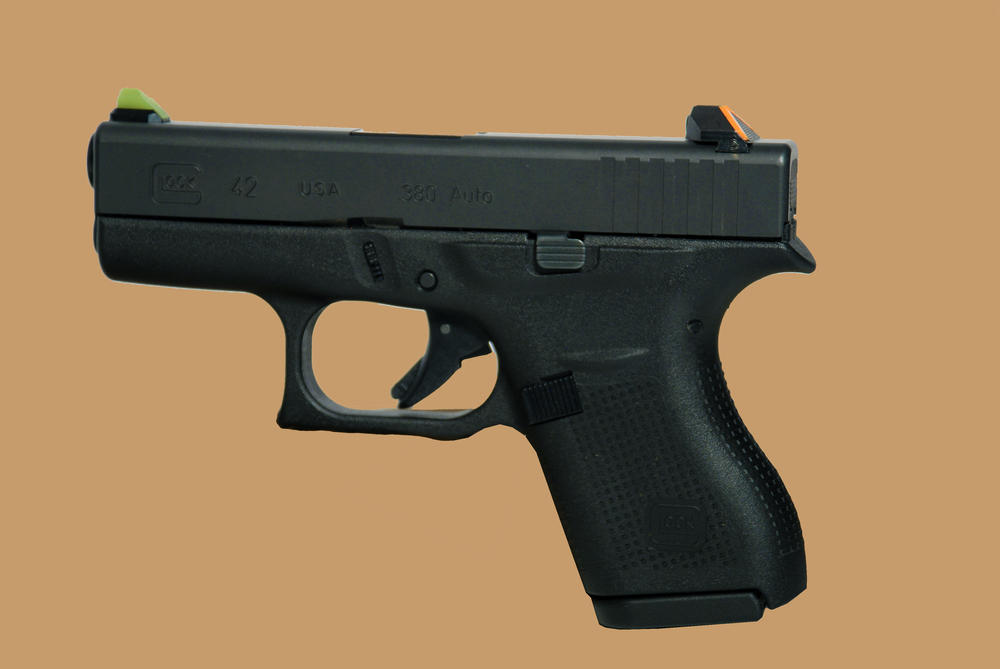 Glock 42 Side View