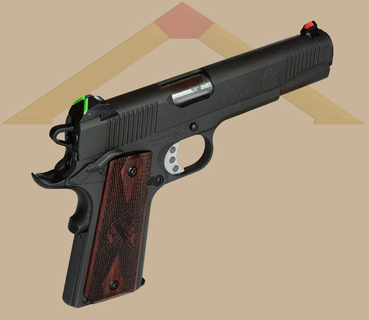 Springfield 1911 ats sight front sight should be installed by a