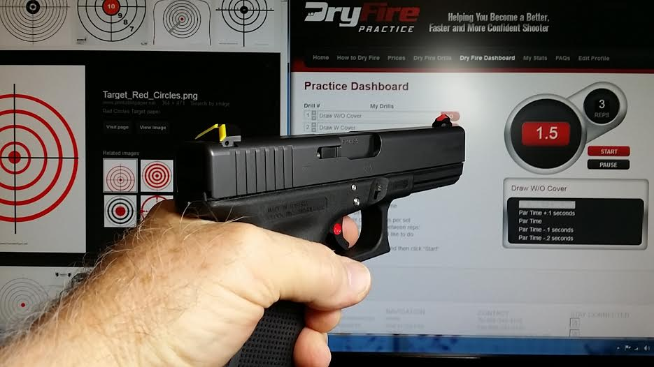 Glock 22 Gen 4 with ATS