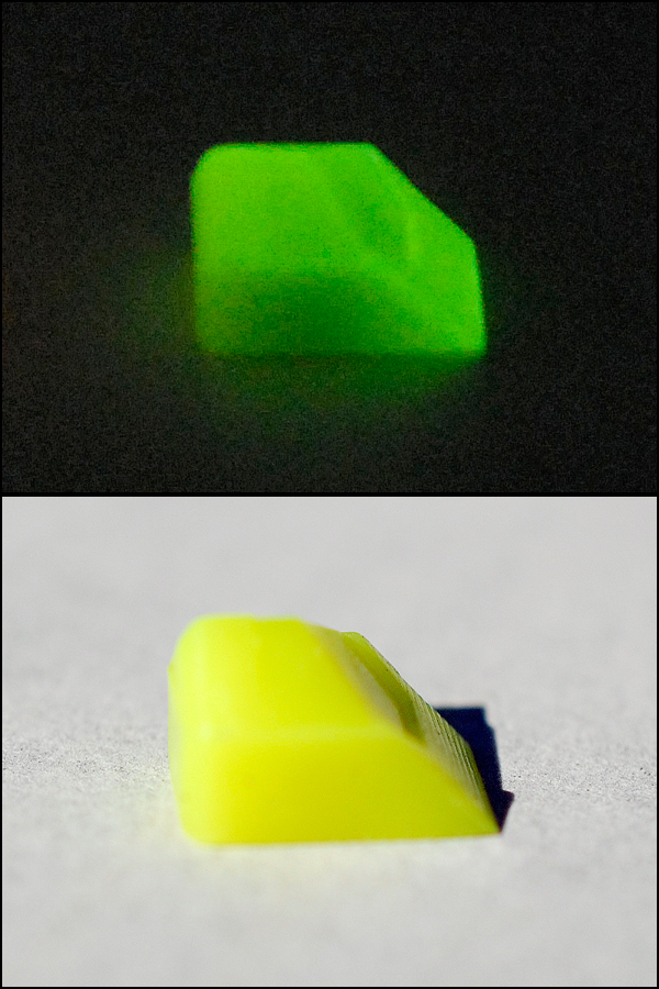 Firefly Generation II: Yellow/Lime Glowing Lime
