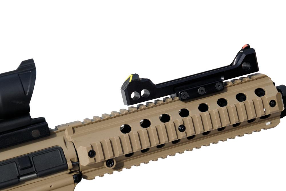 ATS COSUB - co-witness &submachine gun