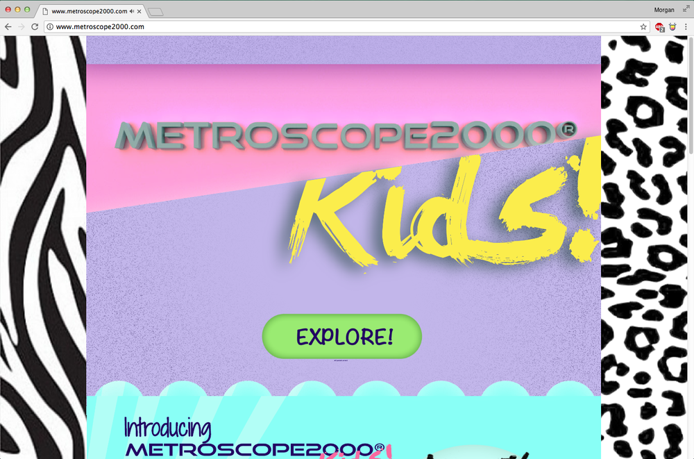 Metroscope2000® Kids!, SKELF Site, UK