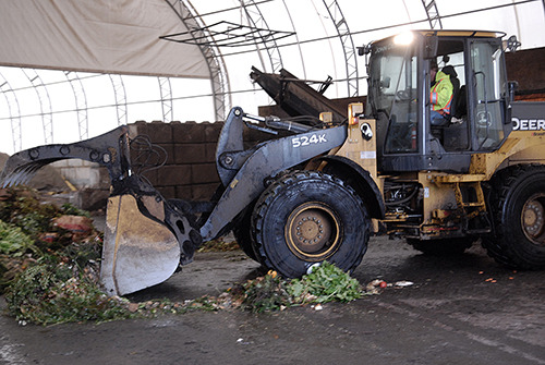 Net Zero Waste facility composts Abbotsford's organic waste.   — Image Credit: File Photo