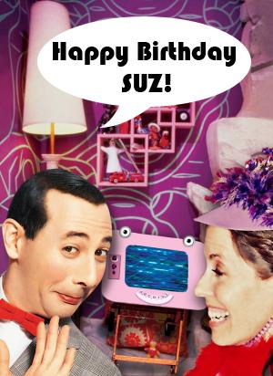 Happy Birthday Suz