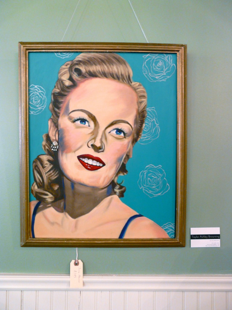 June Haver by Taylor Browning at Urban Betty in Austin, Texas