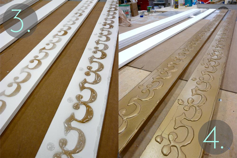 DIY French-Inspired Gold Frames — Taylor Bates