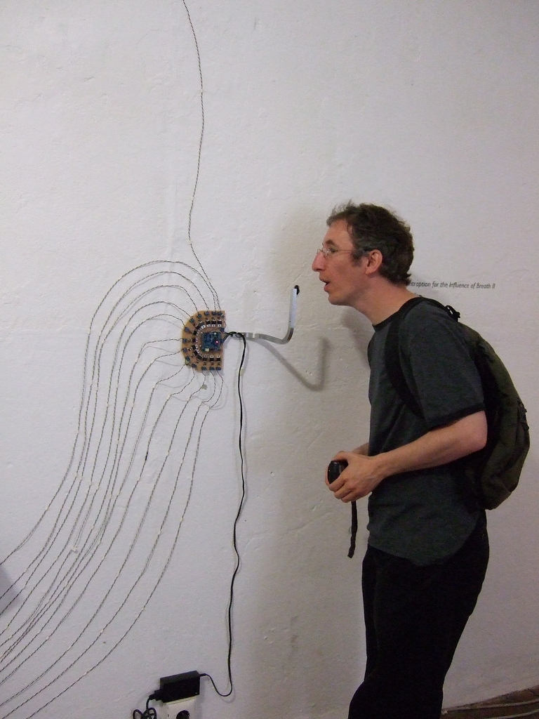 Contraption for the Influence of Breath 2 by Andy Holtin, photo by Tom Insam