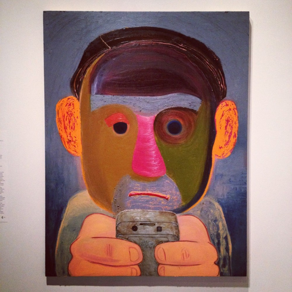 Painting by Nicole Eisenman at the Whitney Biennial 2012