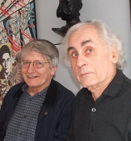 Peter Saul & Bernard Rancillac