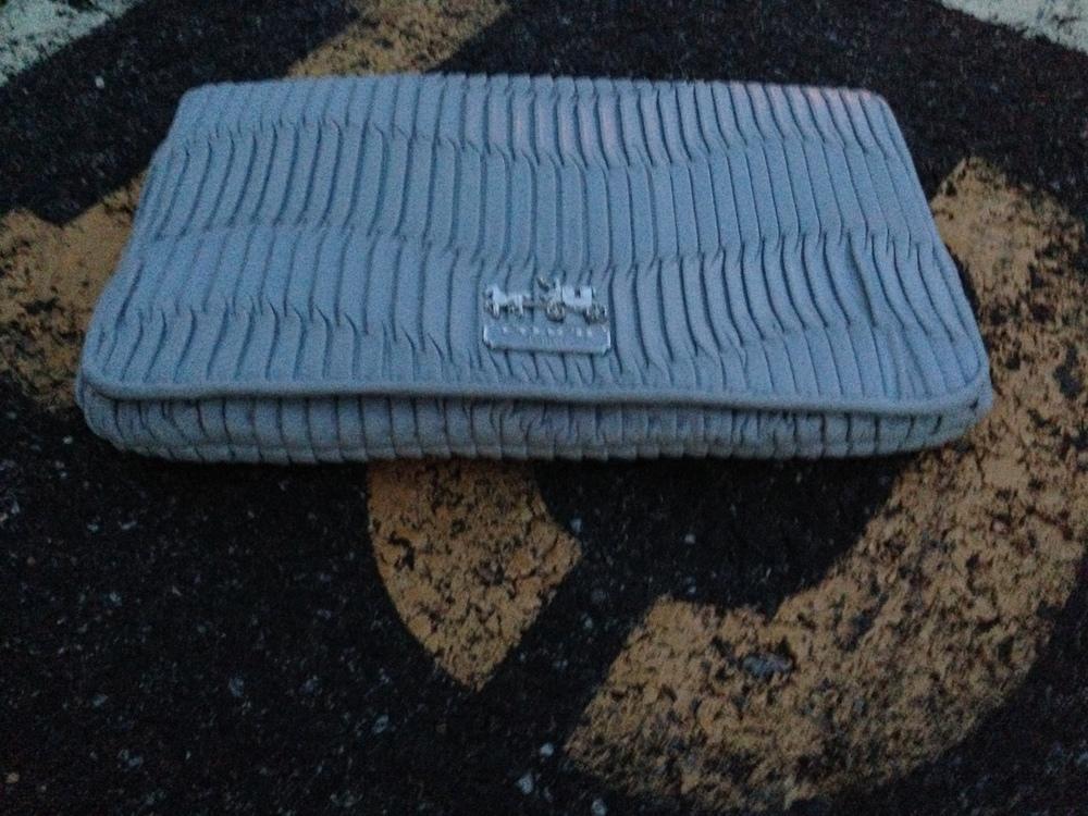 coach gathered leather clutch.jpg