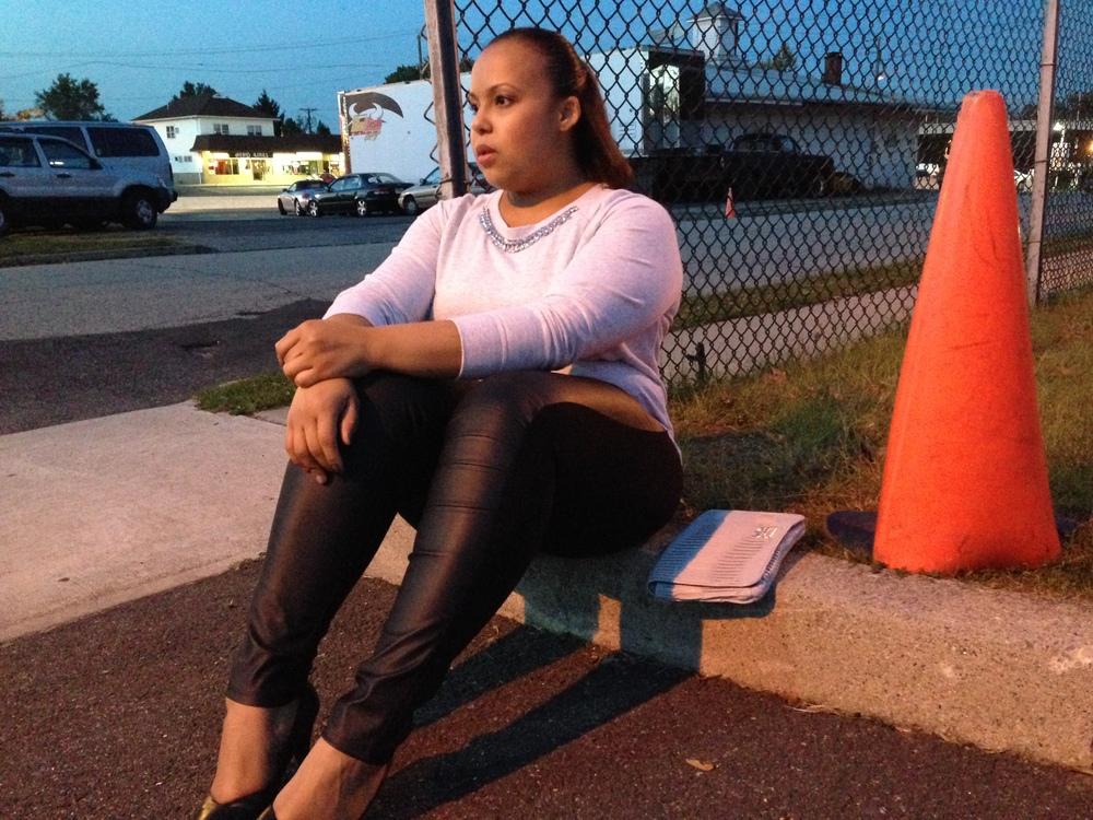 sitting by cone.jpg