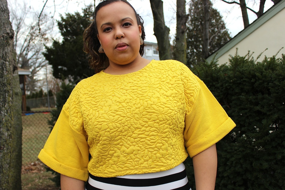 The texture on this top is so luxurious, very well made.