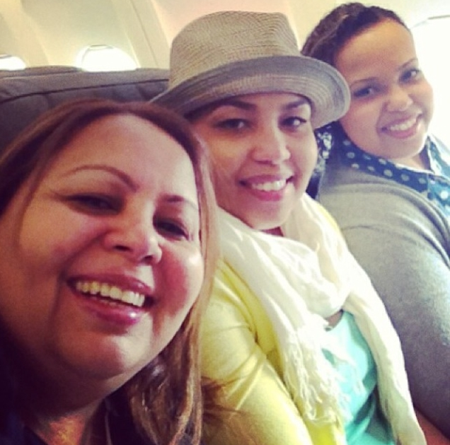 All 3 of us headed to Dominican Republic for a close friend's wedding (2013)