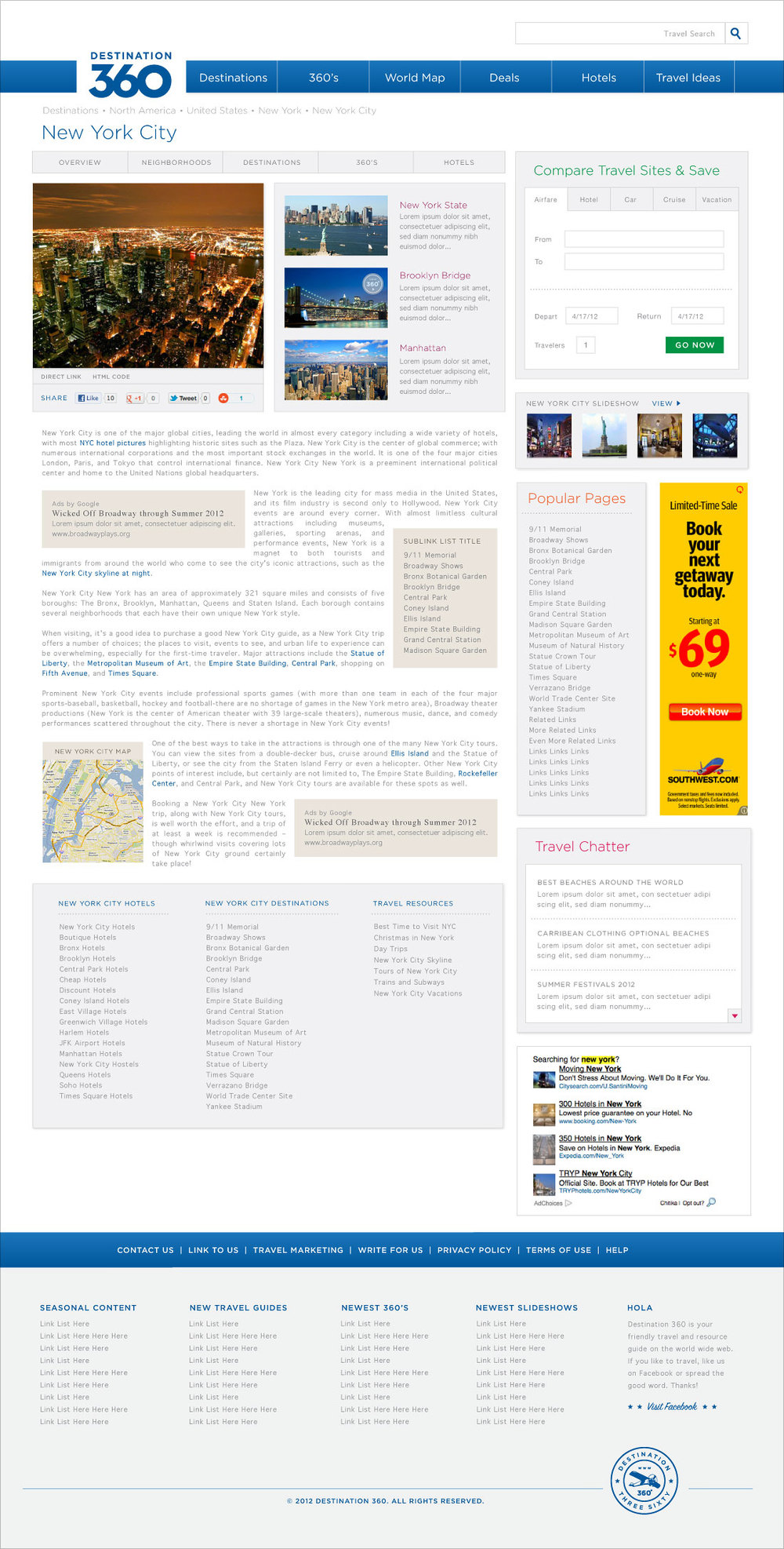 evrybdy branding logo design website marketing destination 360 seattle corin mcdonald
