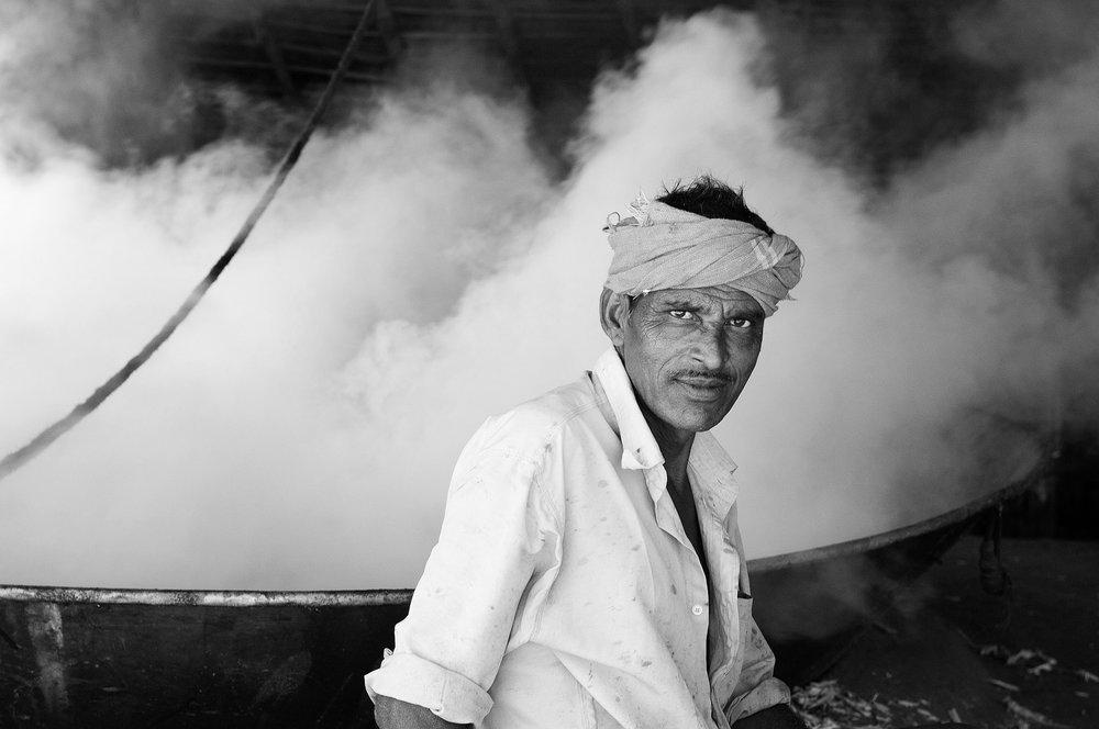 Making Jagari, India