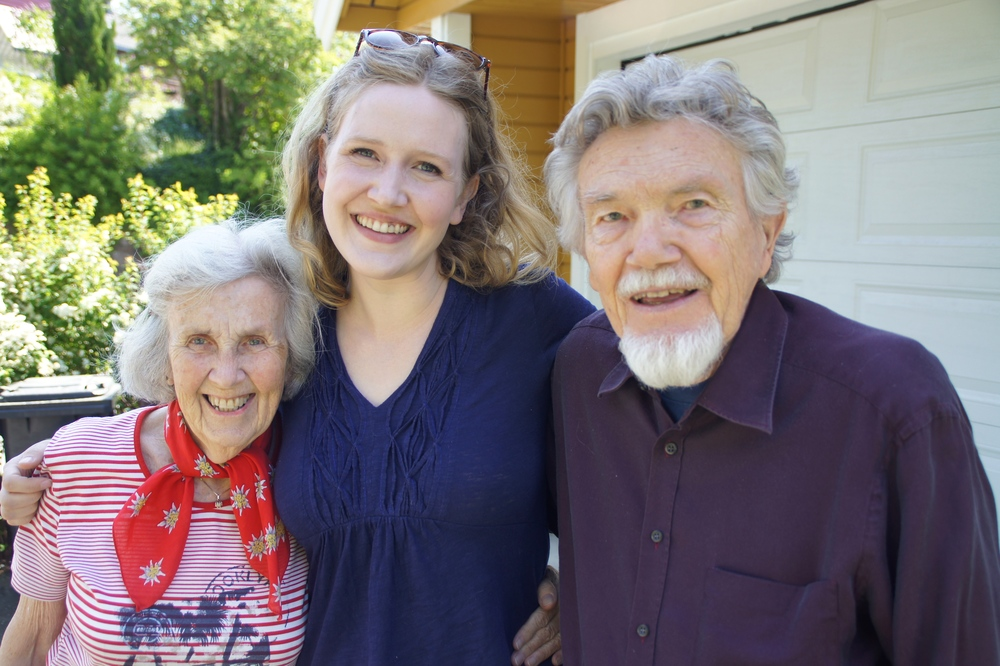 Me with Tante Helga & Onkel Sven