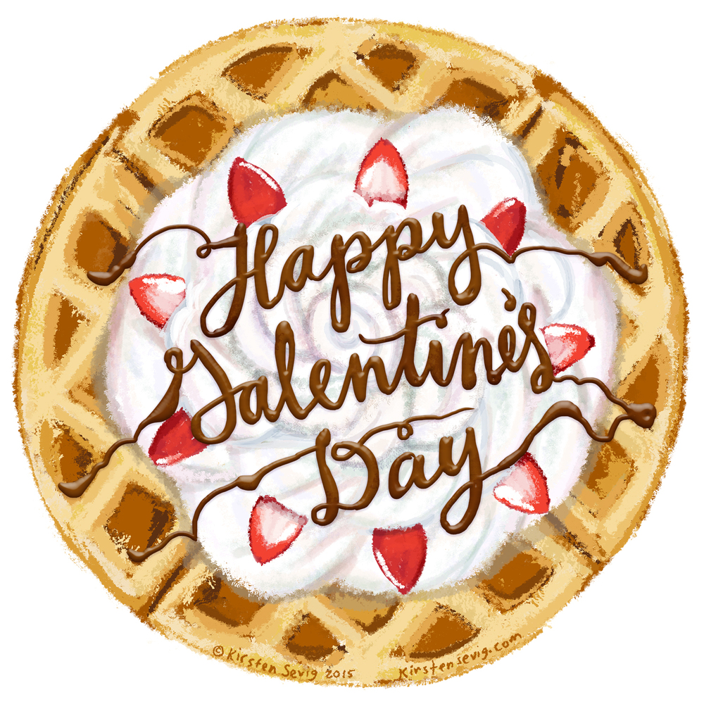 Happy Galentine's Day — Kirsten Sevig