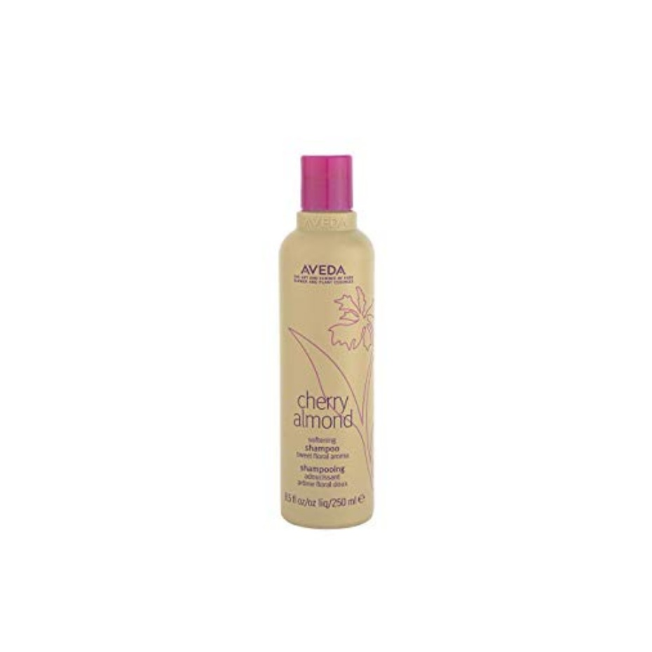 Aveda Cherry Almond Softening Shampoo $ (250ml)   Babassu and coconut derived ingredients deeply, yet gently cleanse hair while maintaining healthy lipids and oils. Naturally derived cherry blossom and sweet almond oil restore softness and shine from roots to ends leaving hair feeling touchably soft and full of weightless bounce.*  *When used with cherry almond softening conditioner  Sweet, juicy floral pure-fume aroma with 38 flower and plant essences including tonka bean, certified organic orange and ylang ylang.   (purchase in store only)