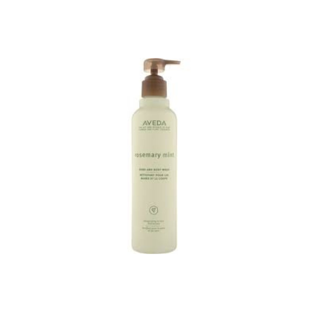 Rosemary Mint Hand and Body Wash $ 200ml   Gentle cleansing formula.  Wakens the senses with an invigorating aroma of certified organic rosemary and peppermint with other pure flower and plant essences.