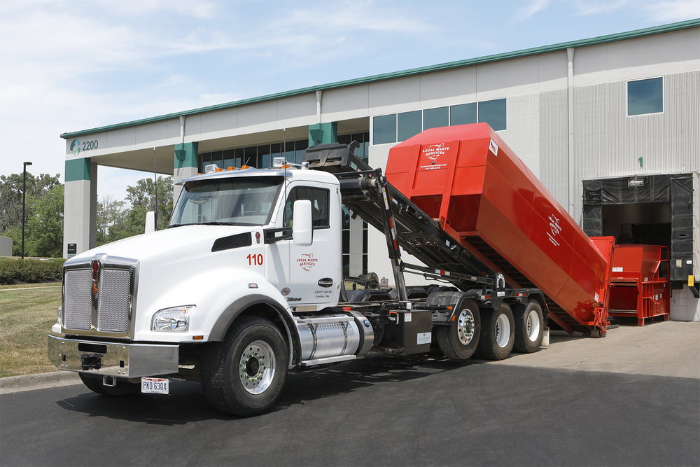 INDUSTRIAL - Offering 20 and 30 yard compactor and open-top containers for solid waste, cardboard and construction materials.