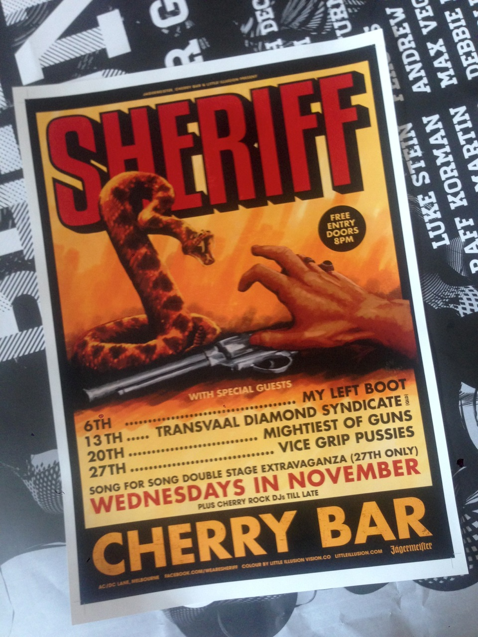Sheriff A3 Posters