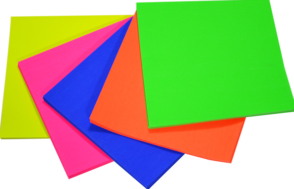 Fluro Paper - Colour Options