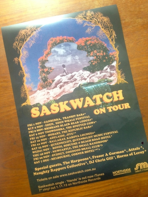 Saskwatch Colour A3