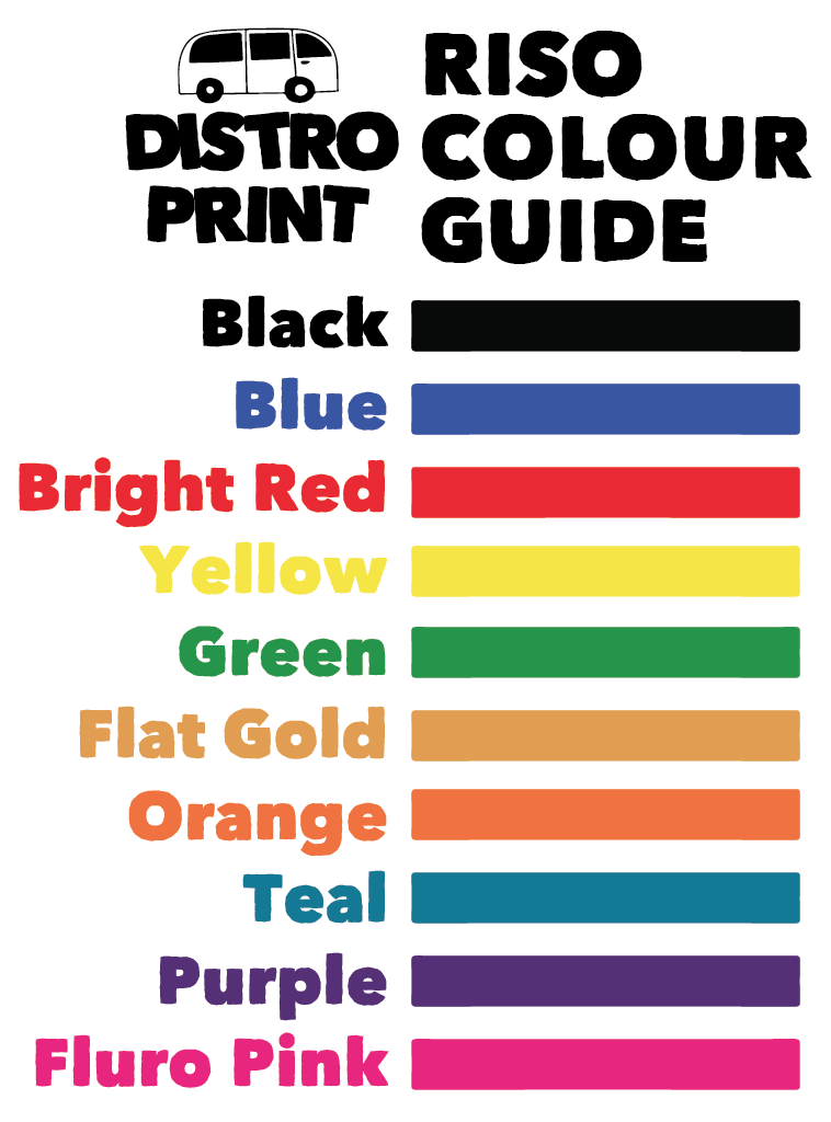 Riso Colour Guide