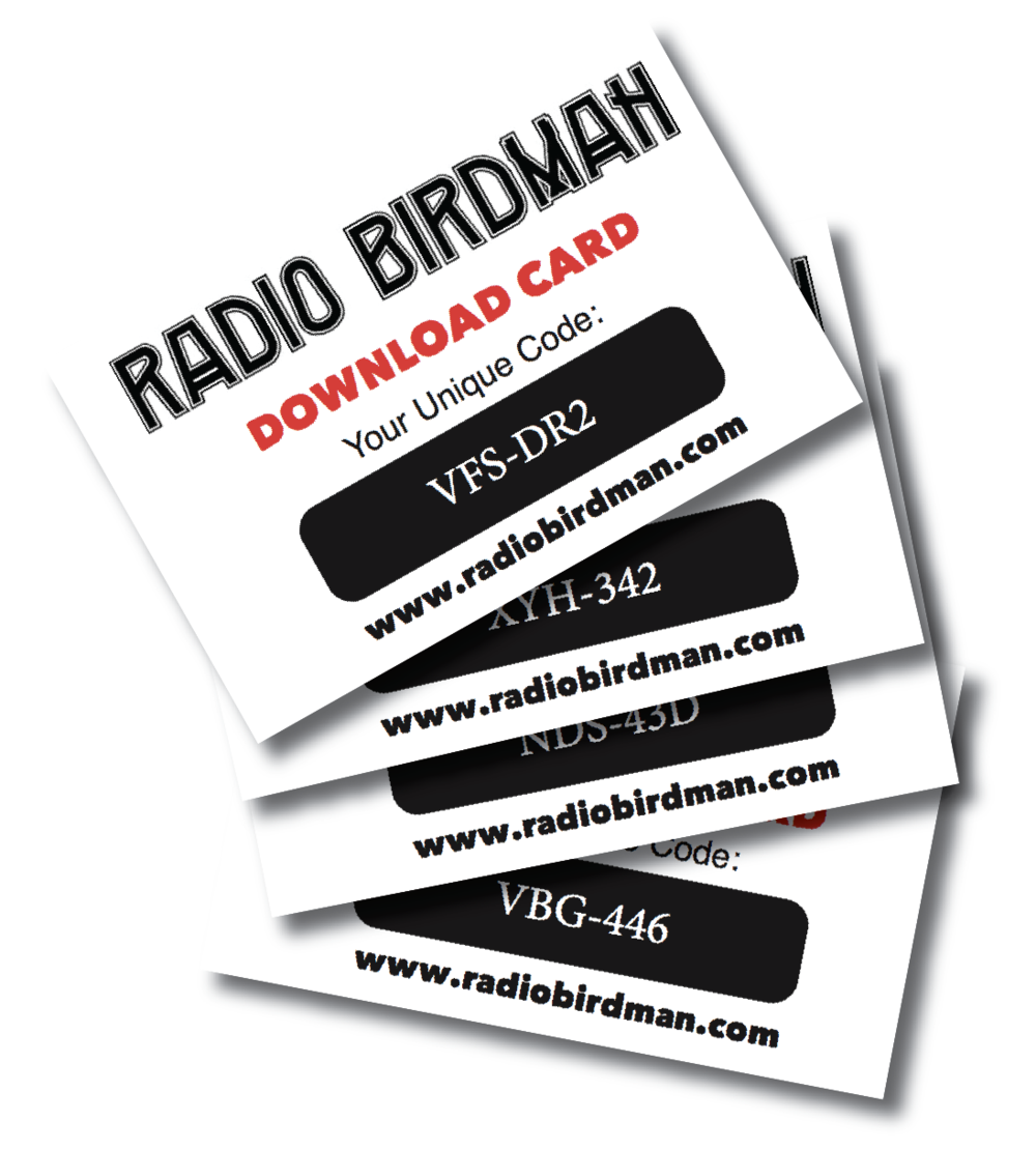download cards and drop card printing