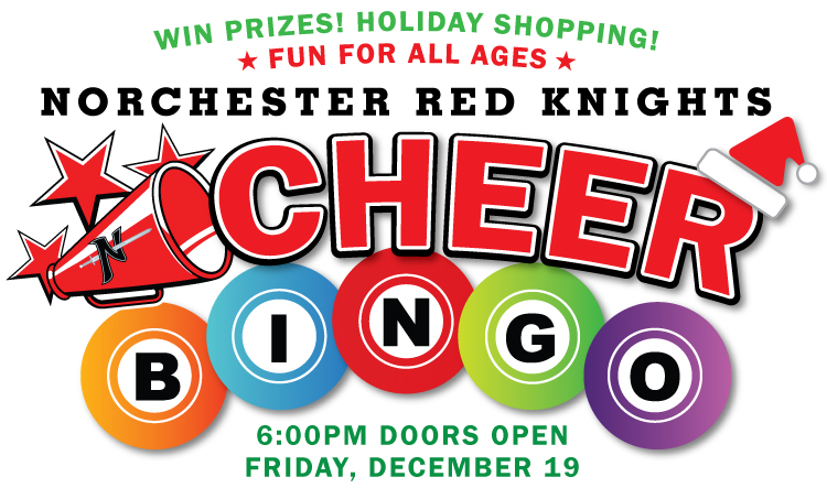 You're Invited to the Norchester Red Knights Cheer Bingo on Friday, December 19, 2014!