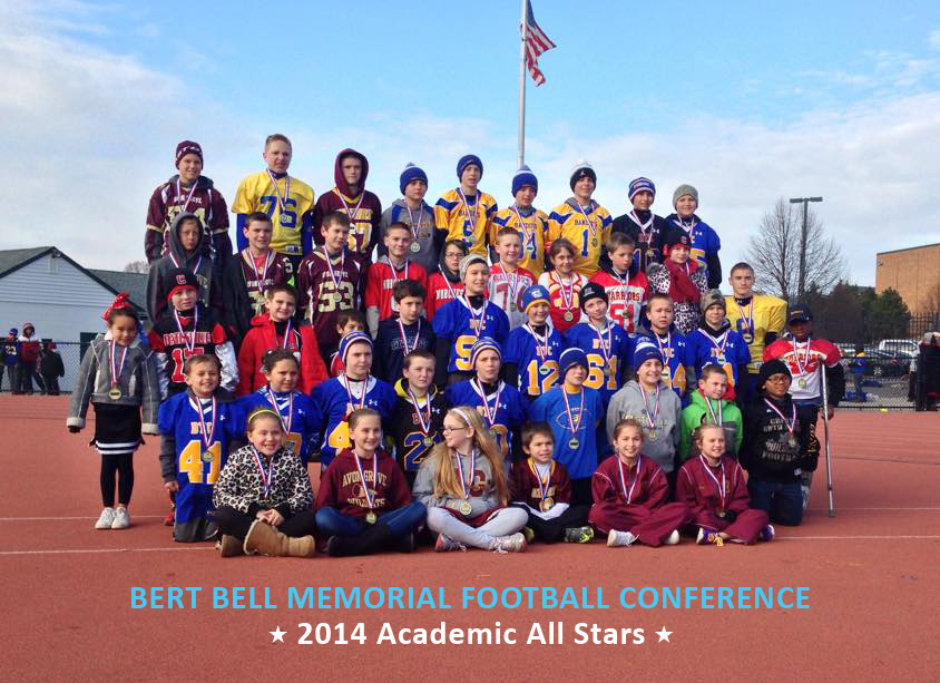 2014 Bert Bell Memorial Football Conference Academic All Stars