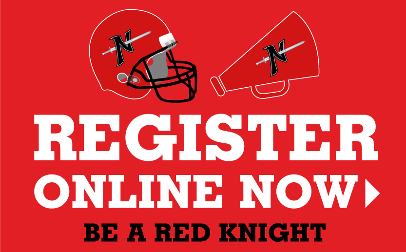 Registration is now open for the Norchester Red Knights Football & Cheerleading!