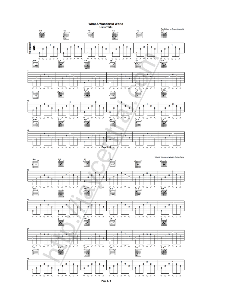 Tabs — Guitar Lessons and Tabs