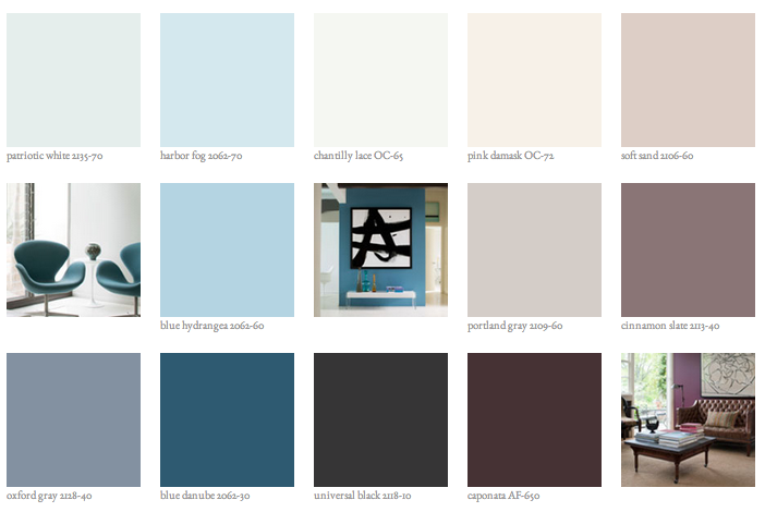 Benjamin Moore Color Of The Year For 2015 Color Theory